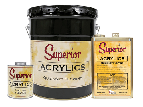 Superior Acrylics Adhesive - Rocket Supply - Concrete and Stone Tool Supply Store