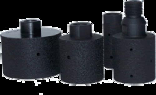 "Diamond Tool Supply - Brazed Drums- 30 grit- 3 X 2 inch - 5/8"" X 11 thread"