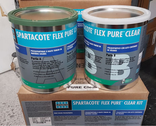HP Spartacote Flex Pure Clear Gloss - 2 Gallon Kit