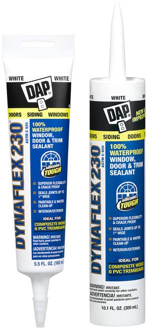 DAP Dynaflex 230 Acrylic Latex Caulk with Silicone