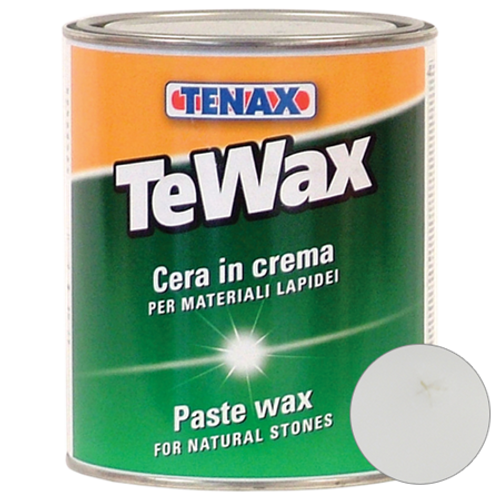 Tenax TeWax Clear Wax Paste - 1 Quart Container - Rocket Supply - Concrete and Stone Tool Supply Store