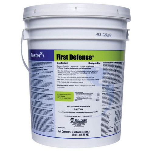 FOSTER® 40-80 First Defense® Disinfectant & COVID19 (SARS-CoV-2)