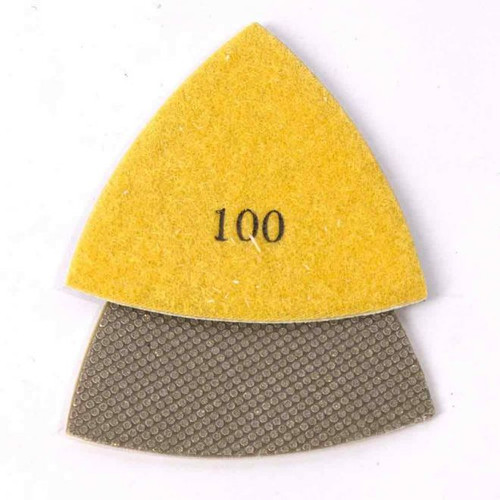 Triangular Diamond Polishing Pads - Rocket Supply - Concrete and Stone Tool Supply Store