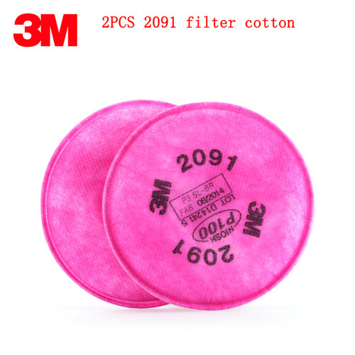 3M-2091 Pink Particulate Filter - Rocket Supply - Concrete and Stone Tool Supply Store
