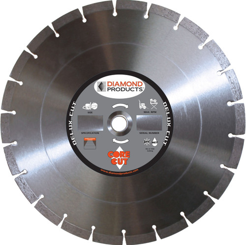 Diamond Products Segmented Blade - Rocket Supply - Concrete and Stone Tool Supply Store