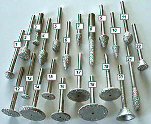 Vacuum Brazed Router Bits - Rocket Supply - Concrete and Stone Tool Supply Store