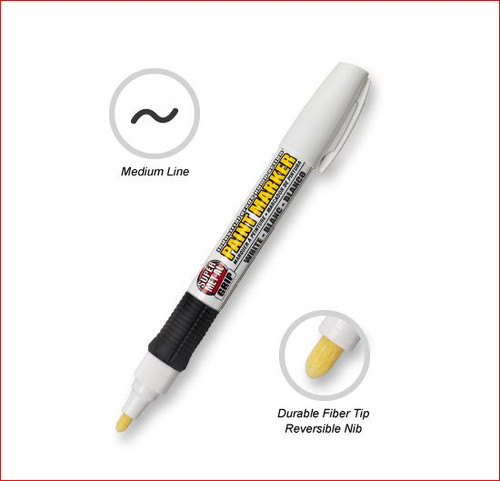 Pump Action Fiber-Tipped Marker