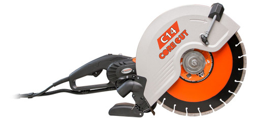 "Diamond Products C-14 Electric Handheld Saw 14"" - Rocket Supply - Concrete and Stone Tool Supply Store"