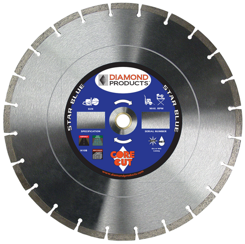 """Diamond Products 14"""" SB Asphalt Blade - Rocket Supply - Concrete and Stone Tool Supply Store"""