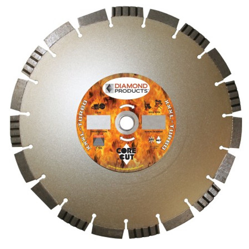 Diamond Products Triple XL Turbo Blade - Rocket Supply - Concrete and Stone Tool Supply Store