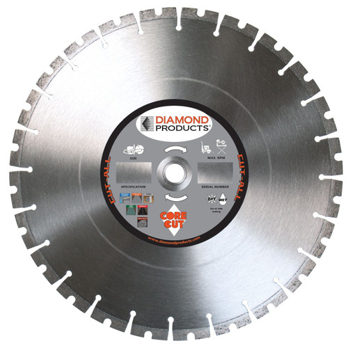 "Diamond Products 14"" Cut-All Dry Blade - Rocket Supply - Concrete and Stone Tool Supply Store"
