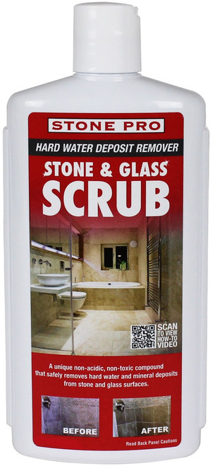 Stone Pro Stone and Glass Scrub - 1 Quart  - Rocket Supply - Concrete and Stone Tool Supply Store