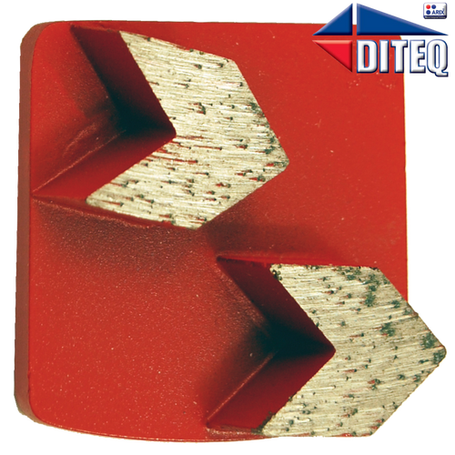 Diteq Teq-Lok Arrow Segments - Rocket Supply - Concrete and Stone Tool Supply Store