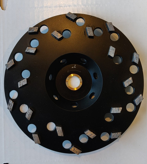 Segmented Epoxy Eater Cup Wheel - Rocket Supply - Concrete and Stone Tool Supply Store