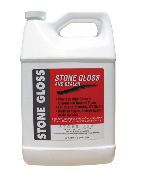 Stone Pro Stone Gloss and Topical Sealer - Rocket Supply - Concrete and Stone Tool Supply Store