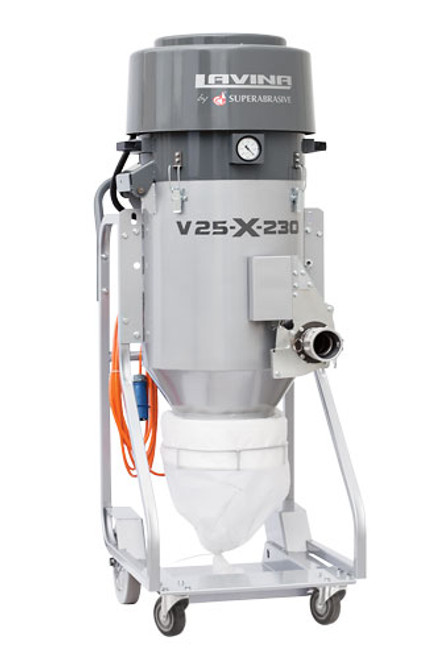 Lavina V-25 Dust Extractor Rental - Rocket Supply - Concrete and Stone Tool Supply Store