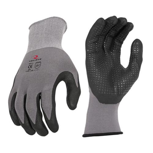 Radians Microdot Foam Dipped Nitrile Gripper Glove