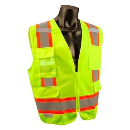 Radians Two Tone Surveyor Type R Class 2 Safety Vest - Rocket Supply - Concrete and Stone Tool Supply Store