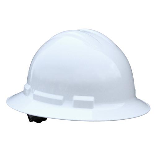 Radians Quartz Full Brim Style Hard Hat - White - Rocket Supply - Concrete and Stone Tool Supply Store