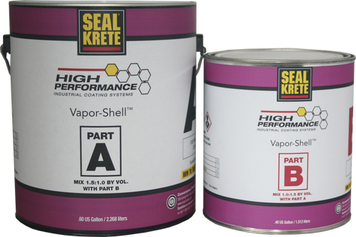 Seal-Krete Vapor-Shell Moisture Vapor Barrier - 5 Gallon Kit - Rocket Supply - Concrete and Stone Tool Supply Store