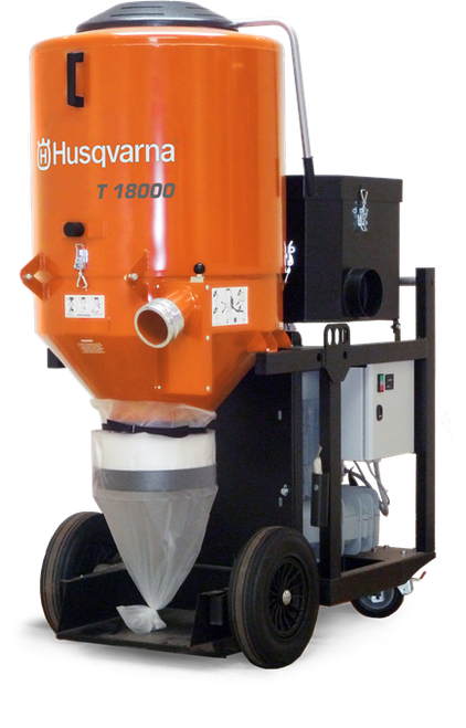 Husqvarna T 18000 480v 3PH Dust Extractor