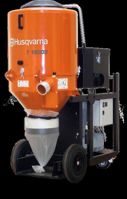 Husqvarna T 18000 480v 3PH Dust Extractor