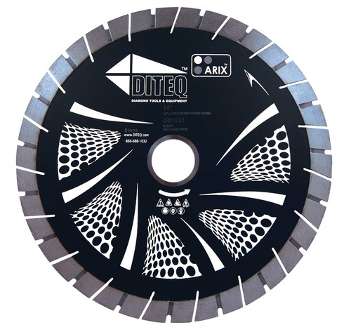 "Mirage Arix 16"" Bridge Saw Blade"