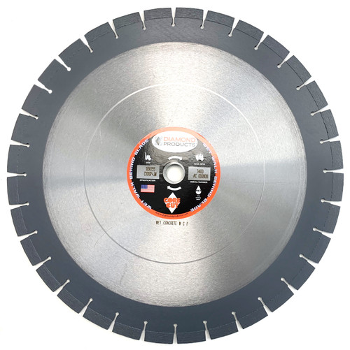 Diamond Products Giga Titanium Cured Concrete Diamond Blades