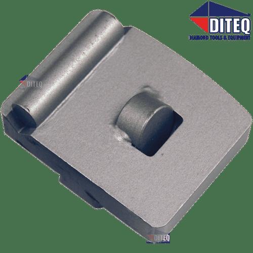 Diteq TEQ-Lok Round PCD With Wear Bar