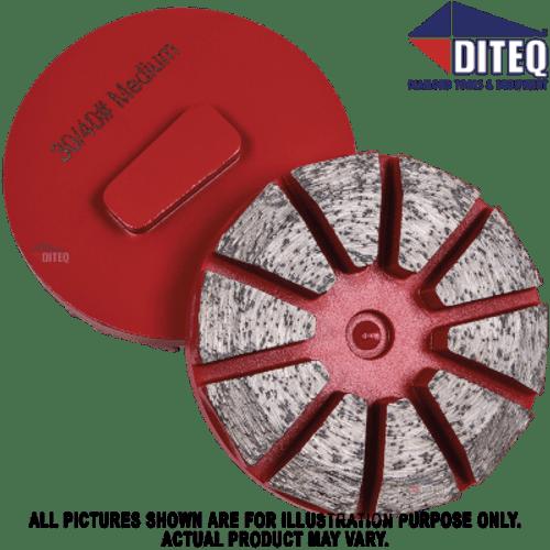 """Diteq TEQ-Lok 3"""" Pizza Segments"""
