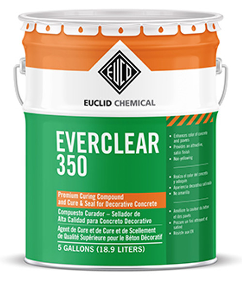 Euclid EverClear 350 Sealer - Rocket Supply - Concrete and Stone Tool Supply Store