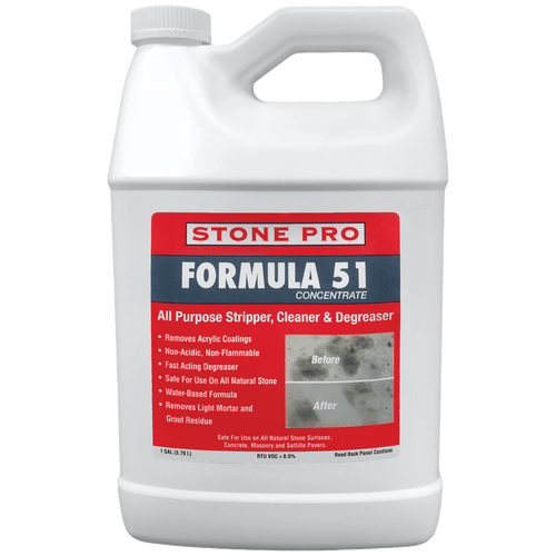 Stone Pro Formula 51 Stripper and Stain Remover - Rocket Supply - Concrete and Stone Tool Supply Store