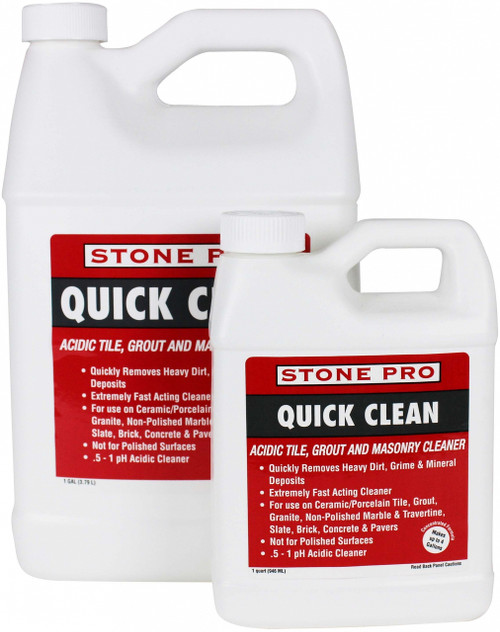 Stone Pro Quick Clean - Rocket Supply - Concrete and Stone Tool Supply Store