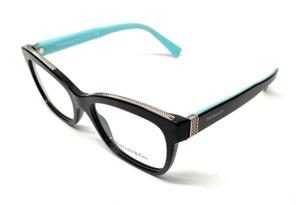 New Tiffany TF 2167 8001 Black Women's Authentic Eyeglasses Frame 52-17