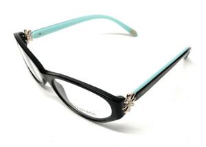 New Tiffany TF 2067-B 8001 Black Women Authentic Eyeglasses Frame 55-16