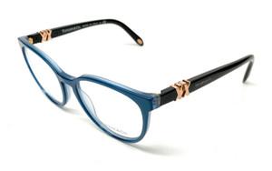 New Tiffany TF 2138 8189 Blue Women Authentic Eyeglasses Frame 53-17