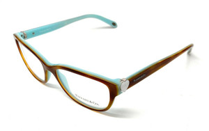 New Tiffany TF 2087-H 8164 Brown Women Authentic Eyeglasses Frame 52-16