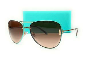 TIFFANY & co. TF3066 60213B Pale Gold Brown Gradient Women's Sunglasses 62 mm