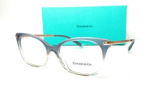 Tiffany & co. TF2194 8298 Grey Blue Gradient Demo Lens Women's Eyeglasses 54-16
