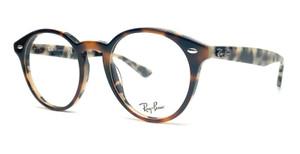 RAY BAN RX2180V 5676 Brown Light Havana Demo Lens Unisex Eyeglasses 49 mm
