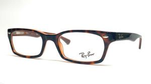RAY BAN RX5150 5713 Havana Demo Lens Unisex Eyeglasses 50 mm