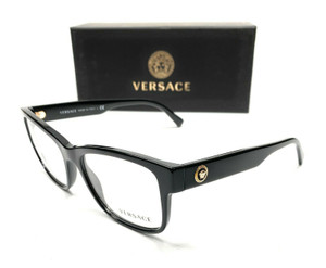 Versace VE3266 GB1 Men's Pillow Demo Lens Eyeglasses Frame 55 mm