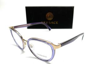Versace VE1249 1413 Violet Women's Authentic Eyeglasses Frame 52-18