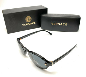 Versace 4352 GB1/87 Black Women's Authentic Sunglasses 54-19
