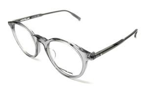 Mont Blanc MB0009O 008 Grey Men's Authentic Eyeglasses Frame 50-22