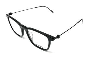 Mont Blanc MB 0005OA 001 Black Men's Authentic Eyeglasses Frame 53-18