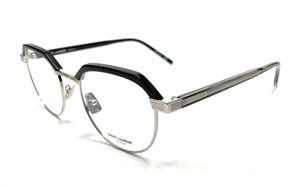 SAINT LAURENT SL 124 001 Black Women's Authentic Eyeglasses Frame 50-21