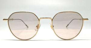Mont Blanc MB0060S 002 Gold Brown Lens Men Sunglasses 50mm