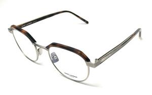 Saint Laurent SL 124 002 Havana Unisex Authentic Eyeglasses Frame 50-21