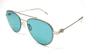 MONT BLANC MB0001S 010 Silver Men's Authentic Sunglasses 56-19